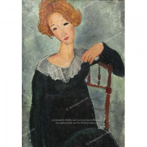 """Puzzle """"Woman with Red Hair, Modigliani"""" (1000) - 61688"""