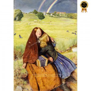"""Puzzle """"The Blind Girl, Millais"""" (1000) - 61792"""