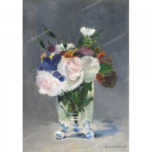 "Puzzle ""Flowers in a Crystal Vase, Manet"" (1000) - 61798"