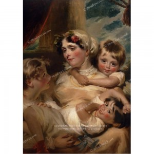 """Puzzle """"Portrait of a Mother, Harlow"""" (1000) - 61825"""