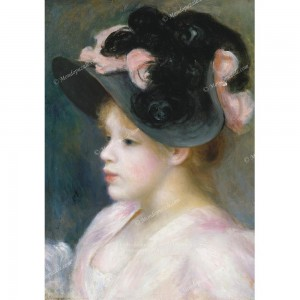 """Puzzle """"Young Girl, Renoir"""" (1000) - 40121"""