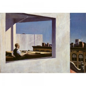 """Puzzle """"Office in a Small City, Hopper"""" (1000) - 40575"""