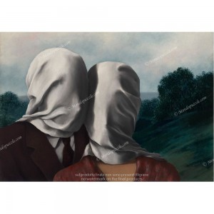 """Puzzle """"The lovers, Magritte"""" (1000) - 41773"""