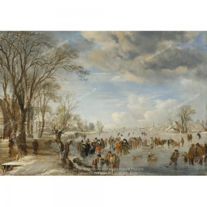"""Puzzle """"Winter in Holland"""" (1000) - 41205"""