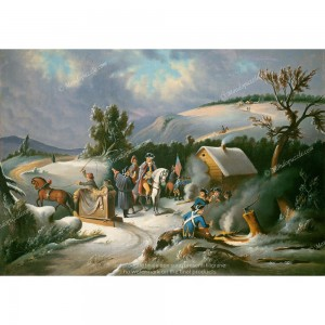 """Puzzle """"Washington At Valley Forge"""" (1000) - 41807"""