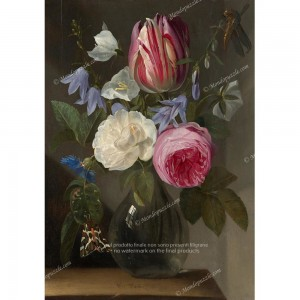"Puzzle ""Roses And A Tulip"" (1000) - 41816"