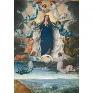 """Puzzle """"The Assumption Of The Virgin"""" (1000) - 41821"""