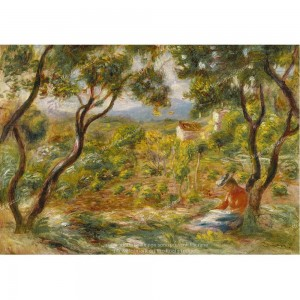 """Puzzle """"The Vineyards At Cagnes"""" (1000) - 41823"""