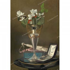 """Puzzle """"Still Life With Fan And Pendant"""" (1000) - 41825"""