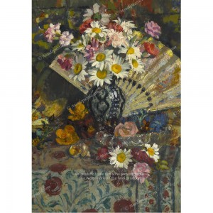 """Puzzle """"Vase With Flowers"""" (1000) - 41826"""