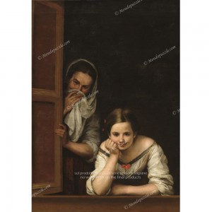 """Puzzle """"Two Women At A Window"""" (1000) - 41831"""