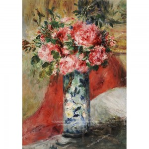 """Puzzle """"Roses and Peonies"""" (1000) - 41842"""