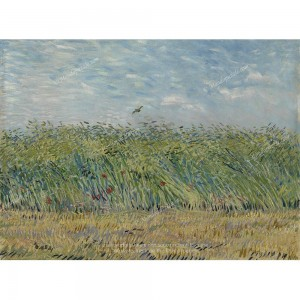 """Puzzle """"Wheatfield With Partridge"""" (2000) - 81406"""