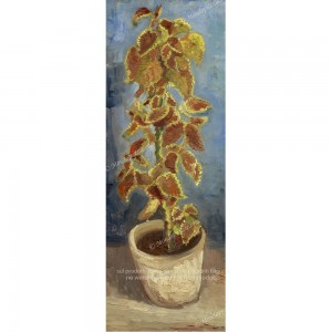 """Puzzle """"Flame Nettle in a Flowerpot"""" (2000 P) - 91055"""