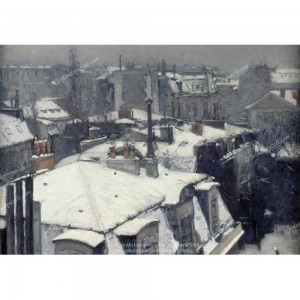 """Puzzle """"Rooftops in the Snow"""" (1000) - 41865"""