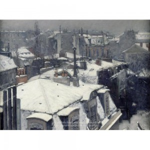 """Puzzle """"Rooftops in the Snow"""" (2000) - 81414"""